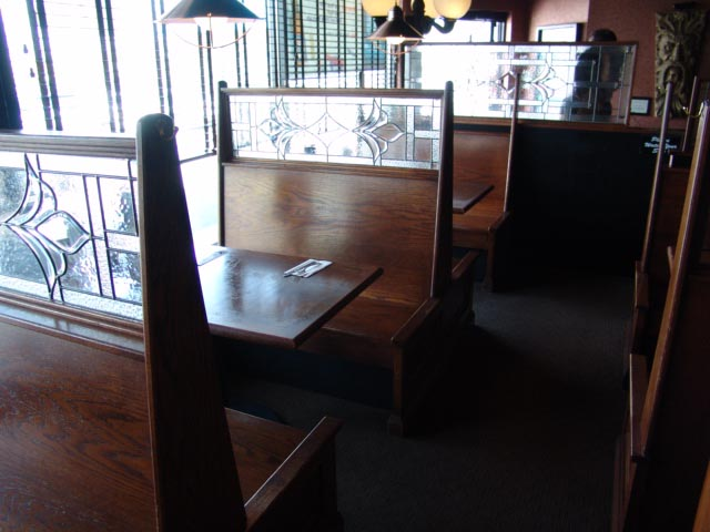 Bench, restaurant bench's, rextaurant seating, wood benchs