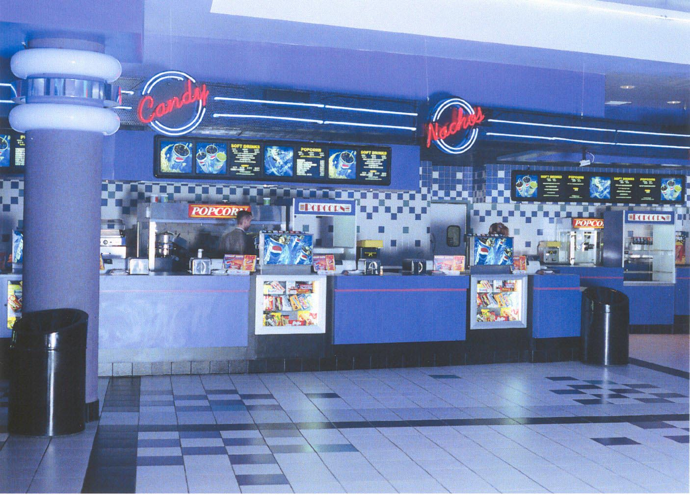 Regal Cinema concession area