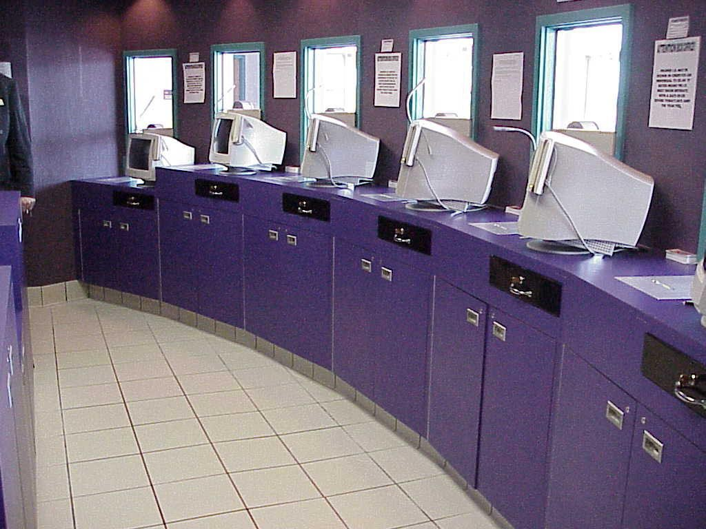 Regal cinema Ticket windows inside