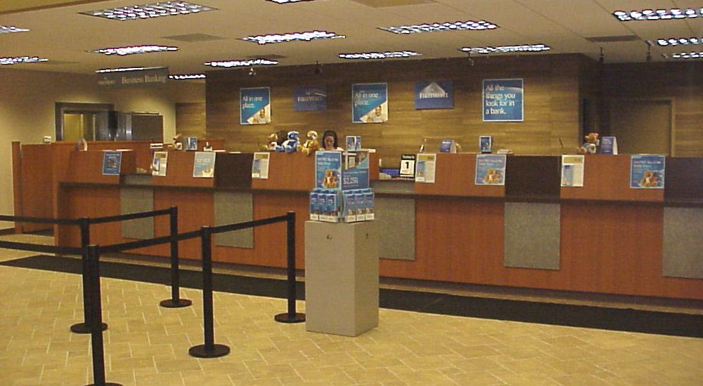 Teller Line, Bank teller line Financial institution teller line
