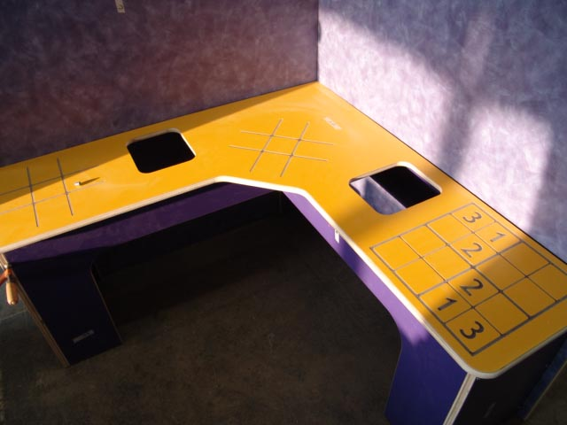 Childrens Museum game table