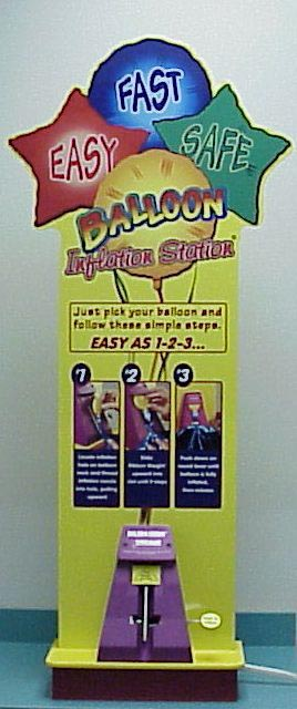 Small Balloon Inflation Station Display
