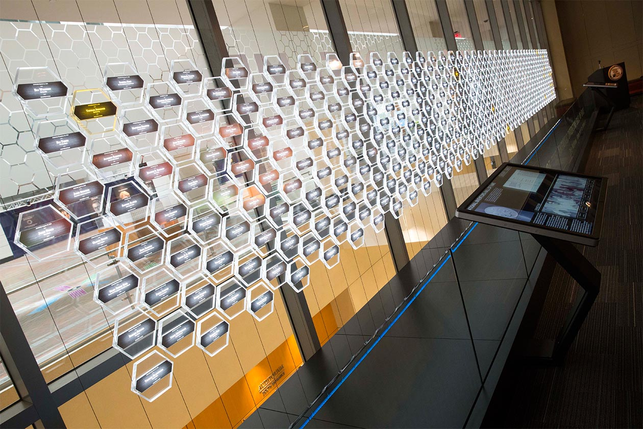 inventors hall of fame awards wall