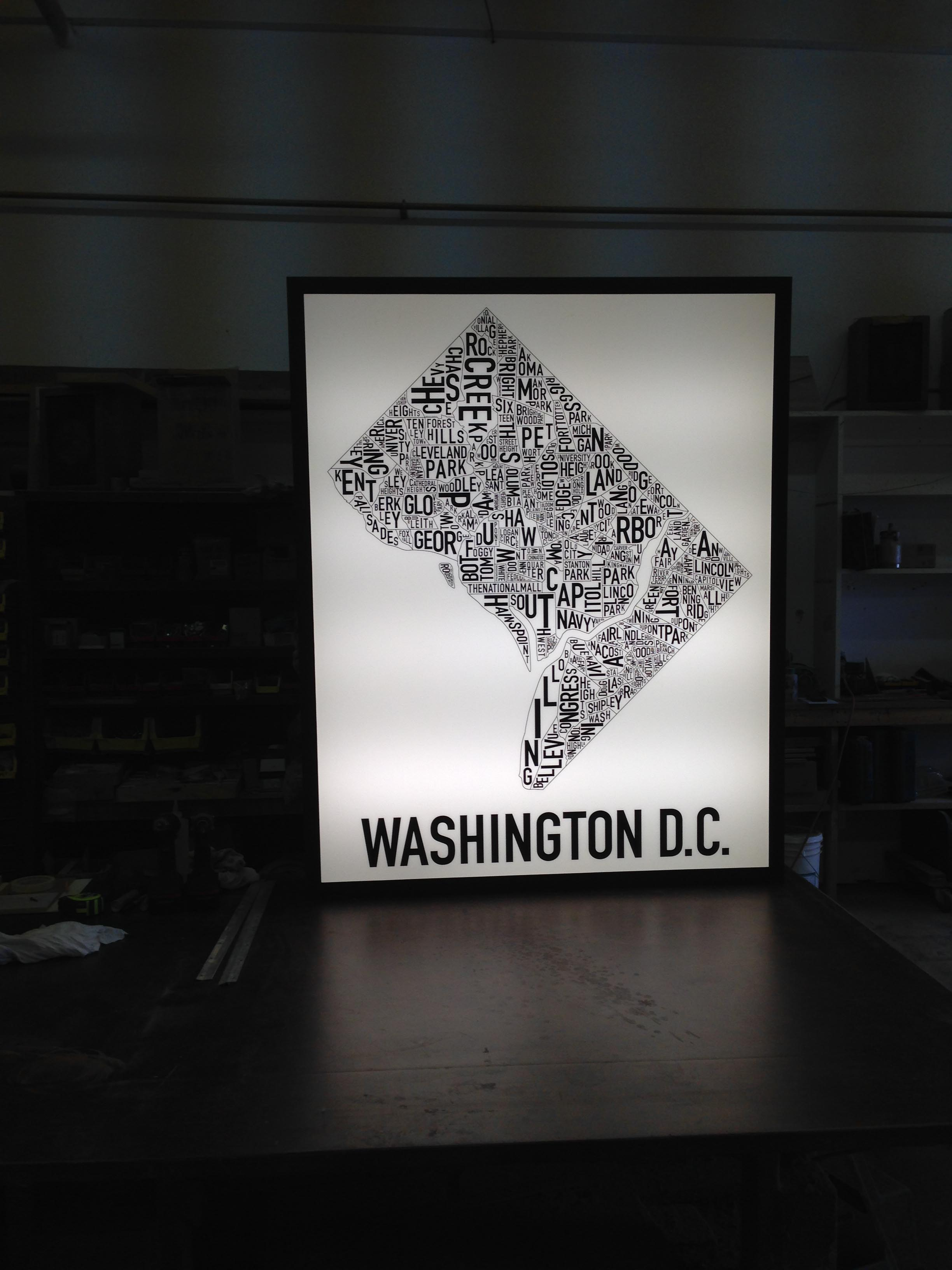 light box sign