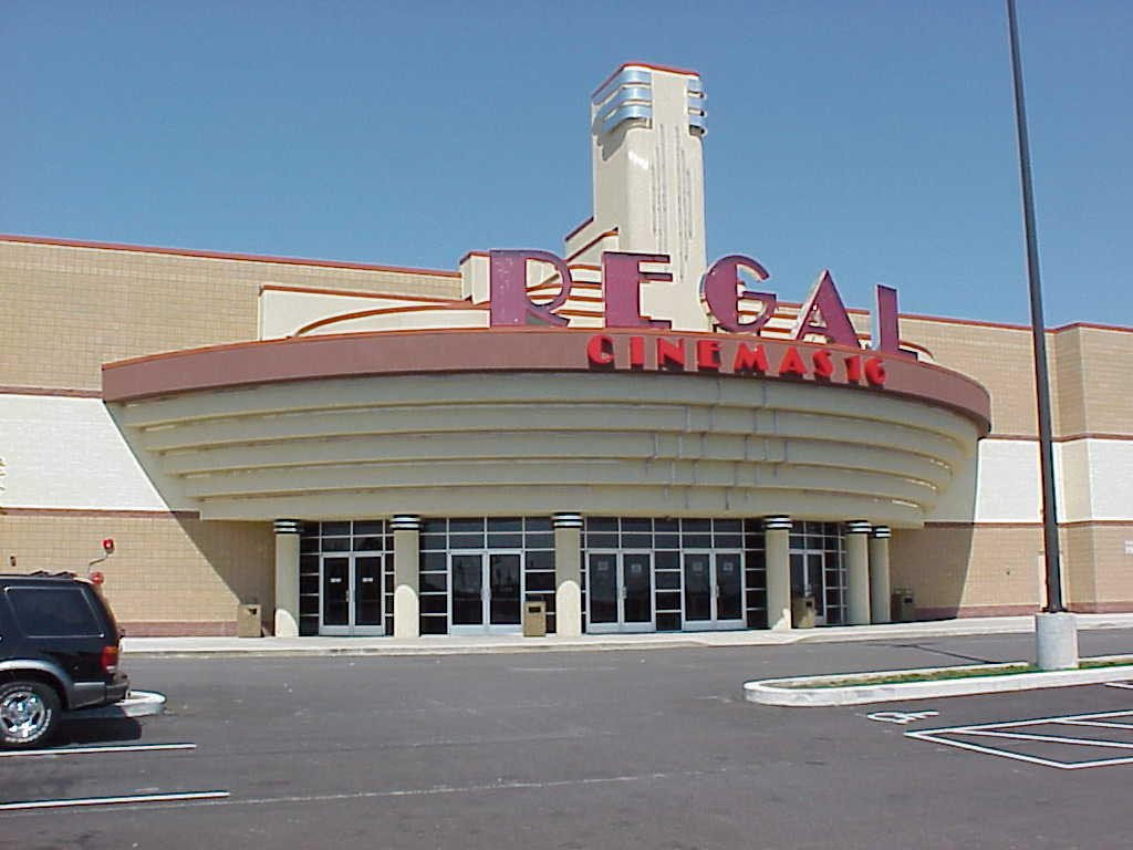 Regal Cinema Front Entrance