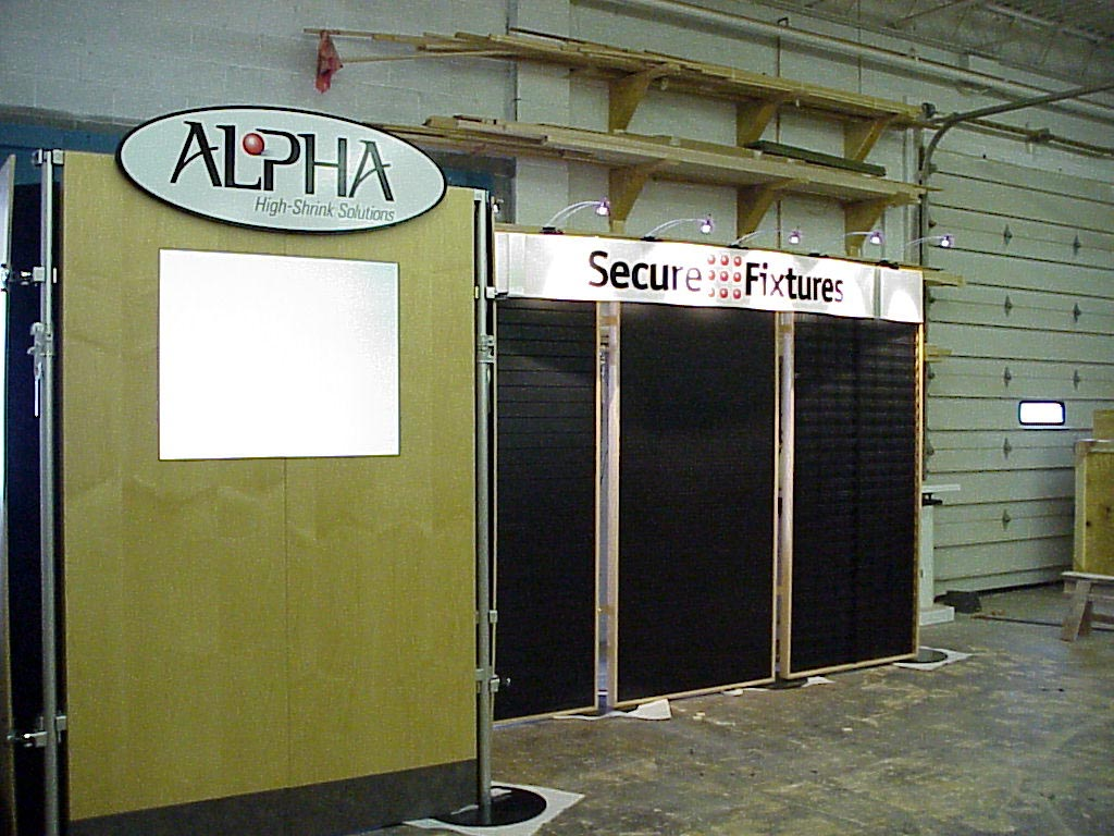 10 x20 back wall booth 2