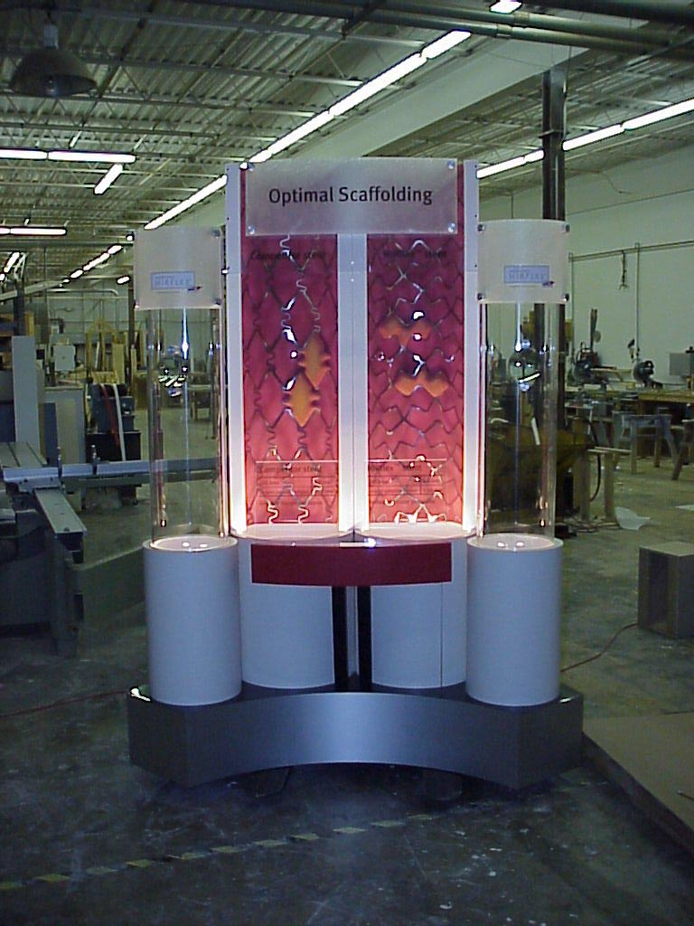 stint display, trade show display