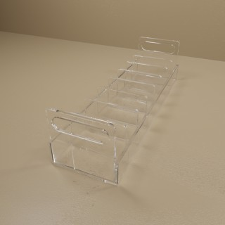 Eight Compartment Blood Bag Tray