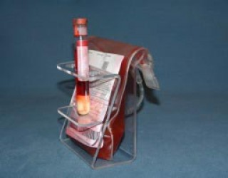 Pack of Twelve Blood Bag Holders with Tube Holder